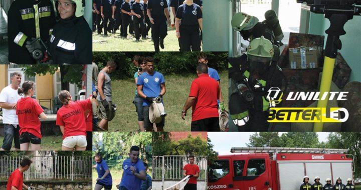 A BetterLED is támogatta ledlámpákkal és munkavédelmi kesztyűkkel az ifjú tűzoltók táborozását