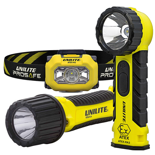 ATEX-EX szikramentes LED lámpák