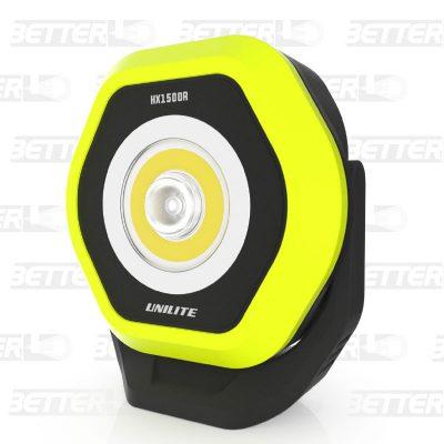 UNILITE HX1500R LED munkalámpa, mágneses